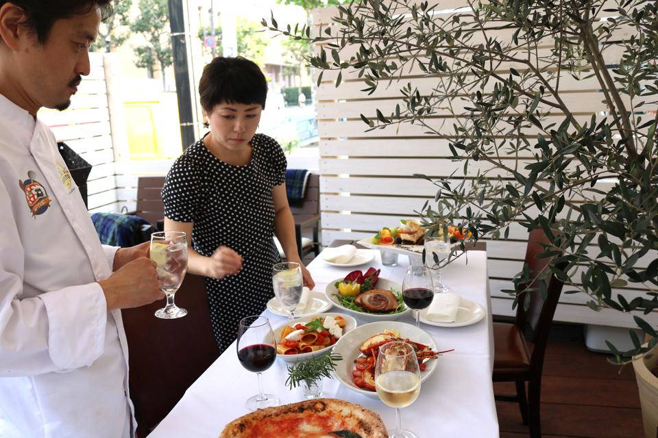 ONDweb&tableの料理撮影
