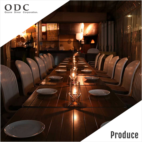 飲食店経営&プロデュース「OZONE DINER Co.,Ltd.」 | ONDweb&table