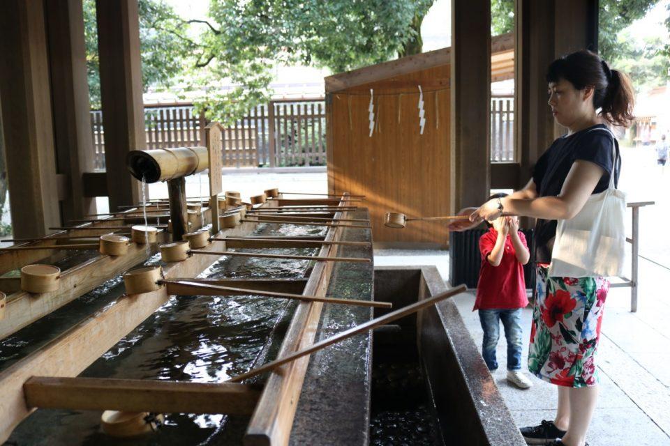 ONDweb&tableと明治神宮